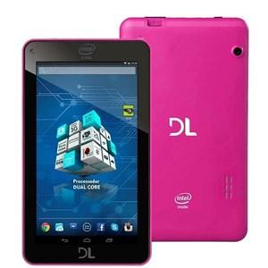 Tablet DL Xpro Tp266Bra 8GB Tela 7 Android 4.4 Wi-Fi Intel Dual-Core Duas Câmeras